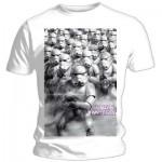 T-Shirt Star Wars - Army Blanc