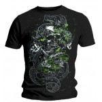 T-Shirt Miami Ink - Green Snake