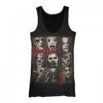 T-Shirt Slipknot - Top 9 Point Star - Femme