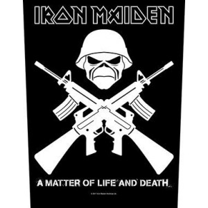 Back Patch Iron Maiden - Crossed Guns