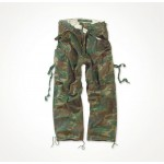 Trousers Vintage Fatigues Camouflage