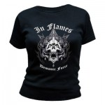 T-Shirt In Flames - Demonic Force - Femme