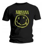 T-Shirt Nirvana - Smiley