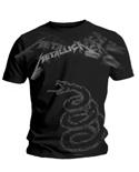 T-shirt metal--